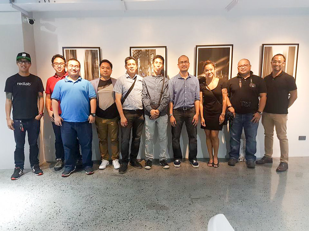 Fine art photographers, award winners, and friends. L-R: Raymond Cruz, Paul Resurreccion, Light Lotus Lettuce Li, Jun Pagalilauan, Ferdie Tiongson, Mitch Miguel, Red Ognita, Cez Young, Allan Borebor, and me. (Photo courtesy of Cez Young)