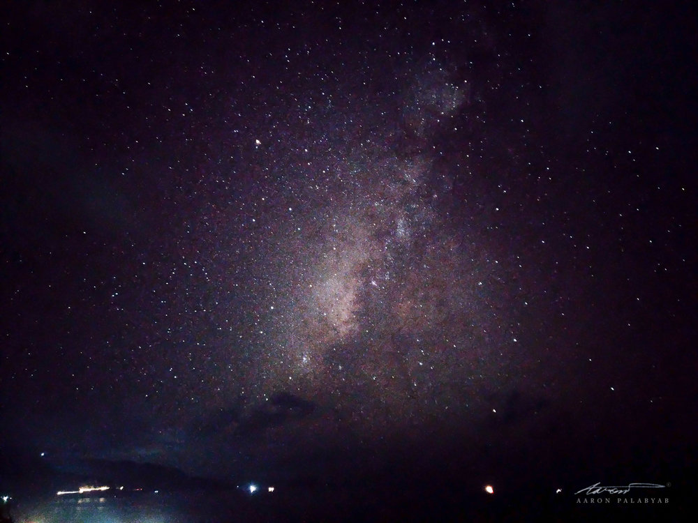 The Milky Way as seen from Naidi Hills. Shot on the Asus Zenfone 3 Deluxe, 32s at f/2.0, ISO 3200. Processed in Adobe Lightroom CC. Adjusted for exposure (+2) and noise reduction.