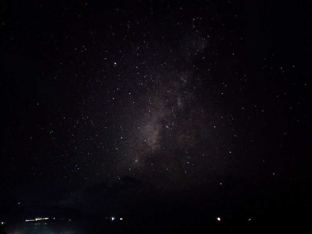 Unedited Milky Way shot from Asus Zenfone 3 Deluxe.