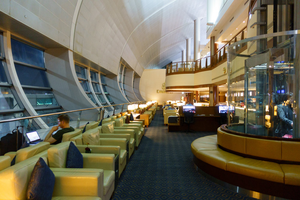 The Dubai Terminal C Business Class Lounge