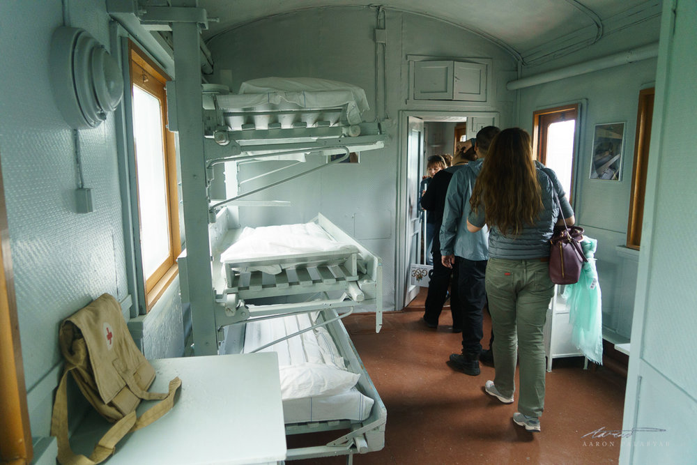 WWII medical train carriage