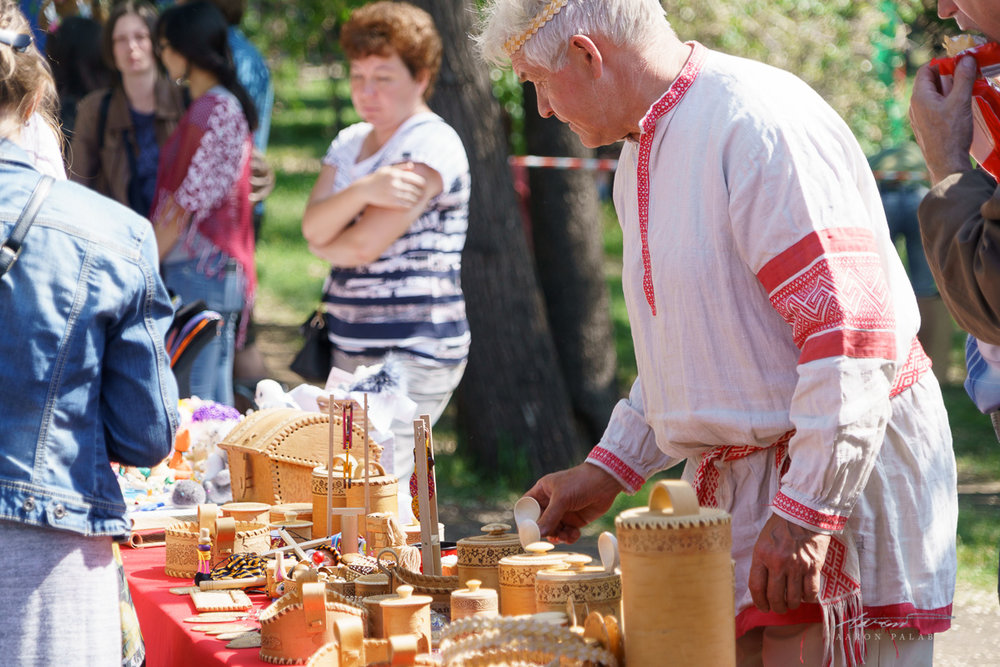 Crafts fair at Irkutsk
