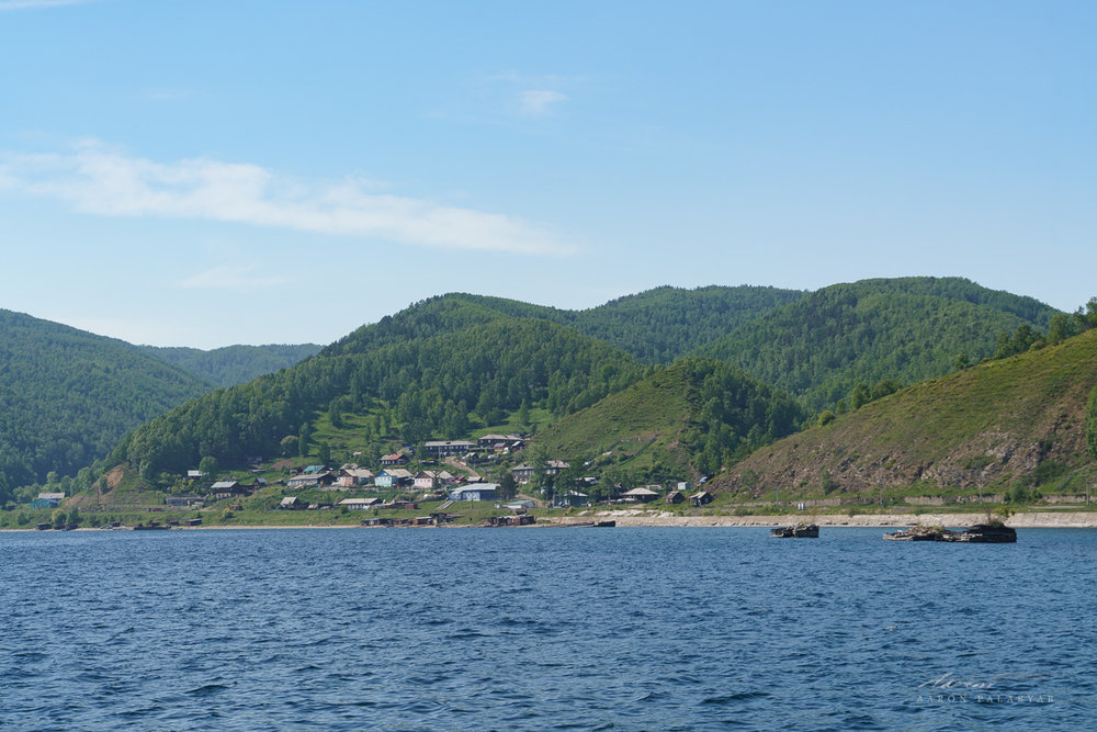 Approaching Port Baikal