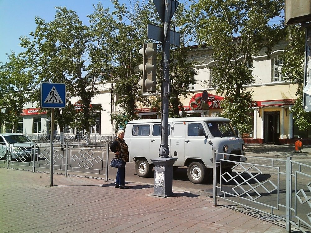 Love these old Soviet-era vans