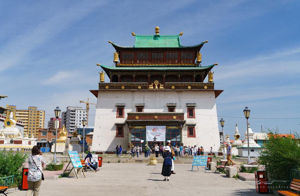 The Temple of Boddhisattva Avalokiteshvara