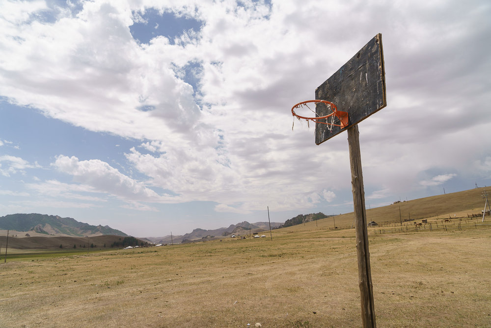 One of the few other places I've seen outside the US, the Philippines, and China where #BallIsLife