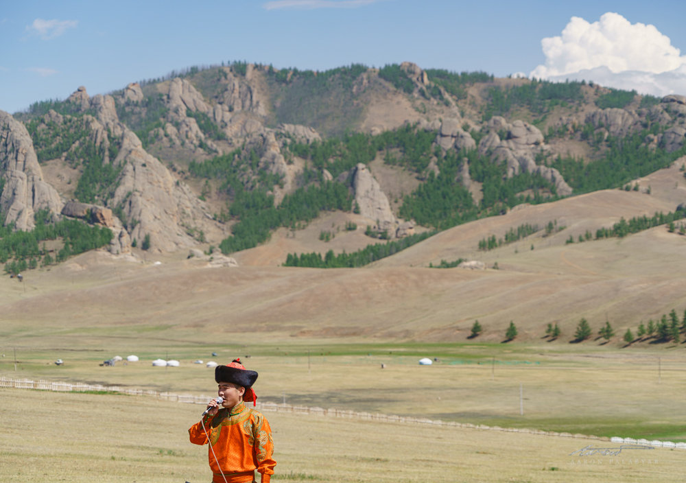 Though staged, the Mini Naadam is still a worthy combination of local color + visual spectacle
