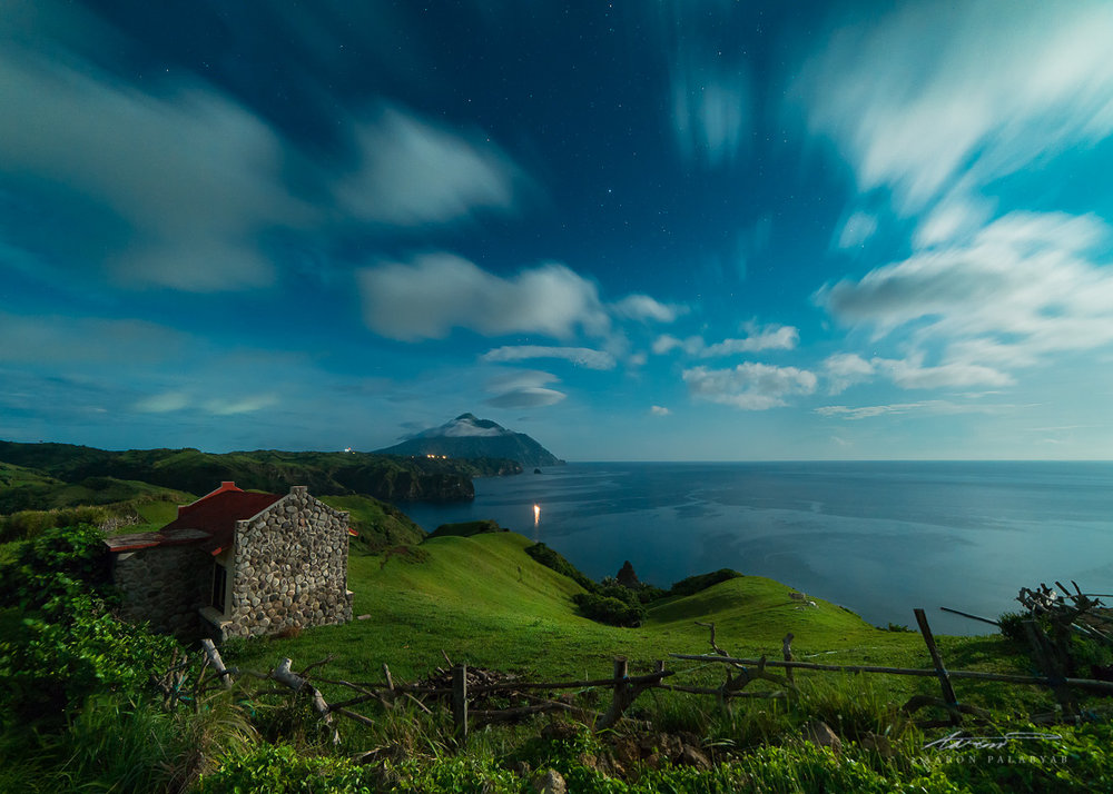 Batanes Under a Full Moon
