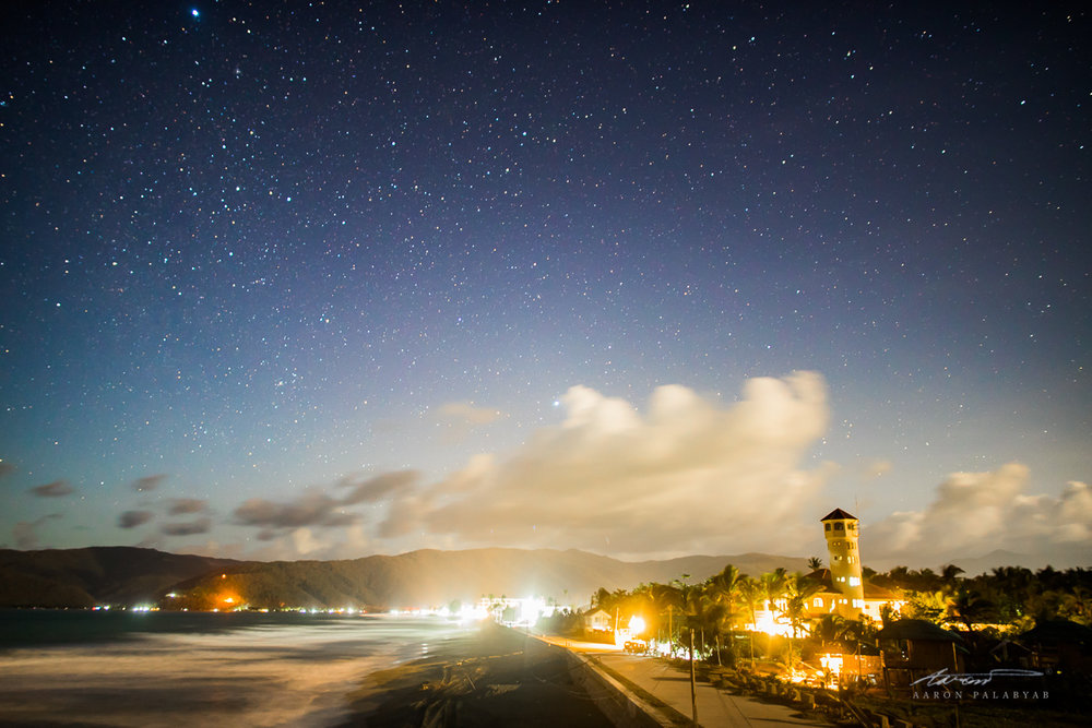 Baler Sleeps Under Stars