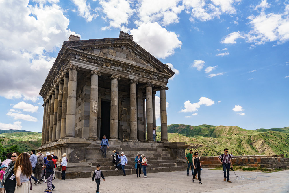 Garni Temple, an Ionic temple from pre-Christian Armenia (ca 1 AD)