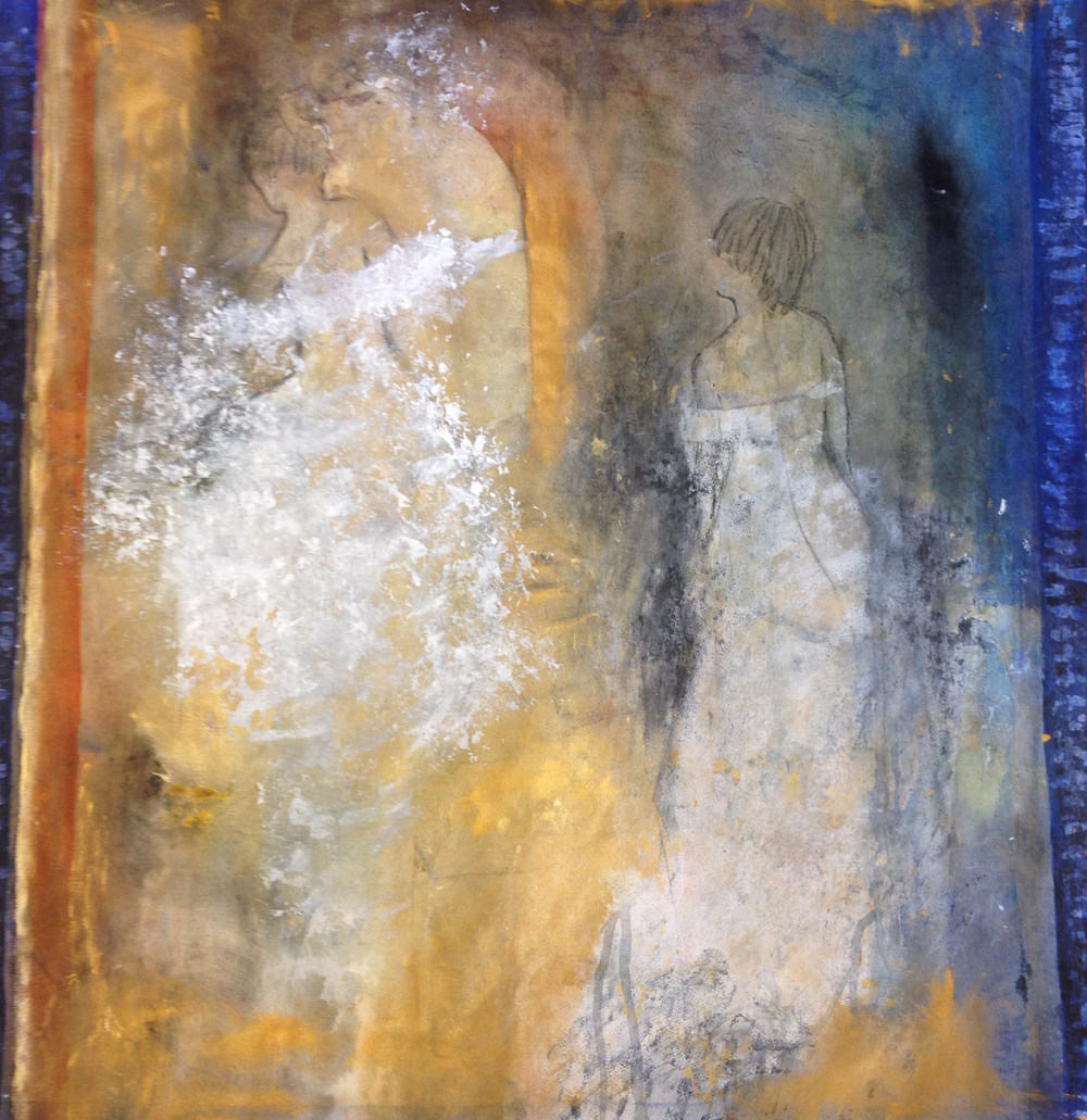 Akvarell,blandteknik