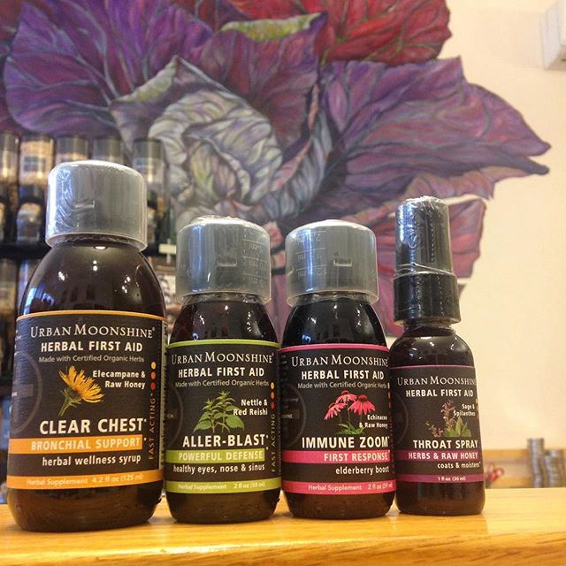 New product alert! Urban Moonshine's Herbal First Aid supplements! We have for different types out to sample so come on by and let us know what you think! @urbanmoonshine #urbanmoonshine #supplements #herbalremedies #organic #health #nourishorganicmarket #westmi #wealthystreet #grandrapids