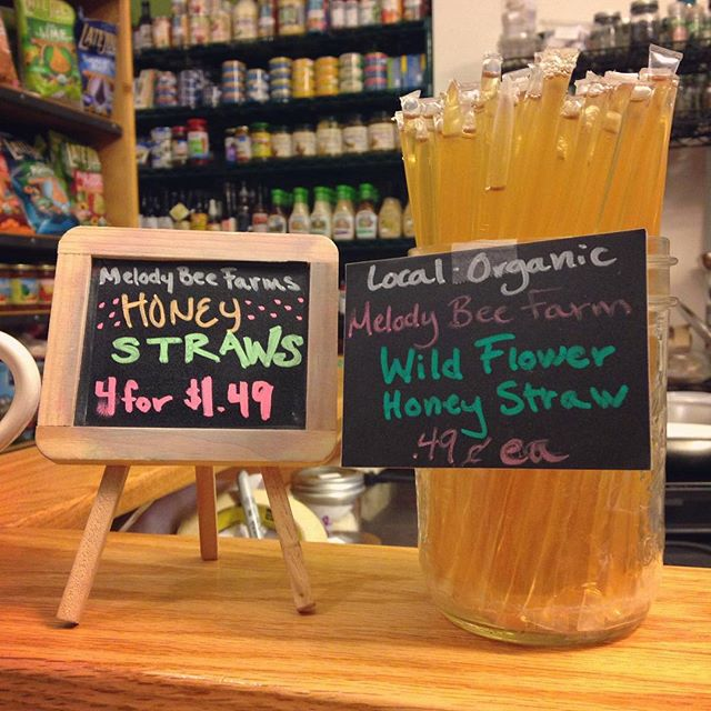 New arrival! Melody Bee farms honey straws! We have two options, Wild Flower and Orange Blossom, just to please your sweet tooth! Melody Bee Farms is a local family farm located in Ada that we supply our raw honey products from!  #rawhoney #honey #bees #sugaralternative #healthy #nutrition #antioxidants #enzymes #vitamins #minerals #nutrientdense #honeystraw #nourishorganicmarket #wealthystreet #westmi