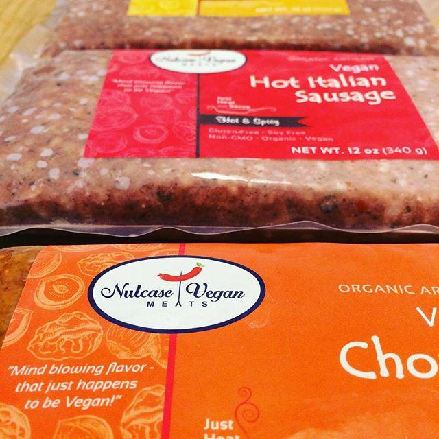 For all the vegans (and non-vegan food lovers!) we have three different flavors of Nutcase Vegan meats for you: Breakfast, Hot Italian, and Chorizo! @nutcasevegan #vegan #veganprotein #veganmeat #artisan #animalfree #quinoa #treenuts #nutritionalyeast #brownrice #hempseed #nongmo #organic #nourishorganicmarket