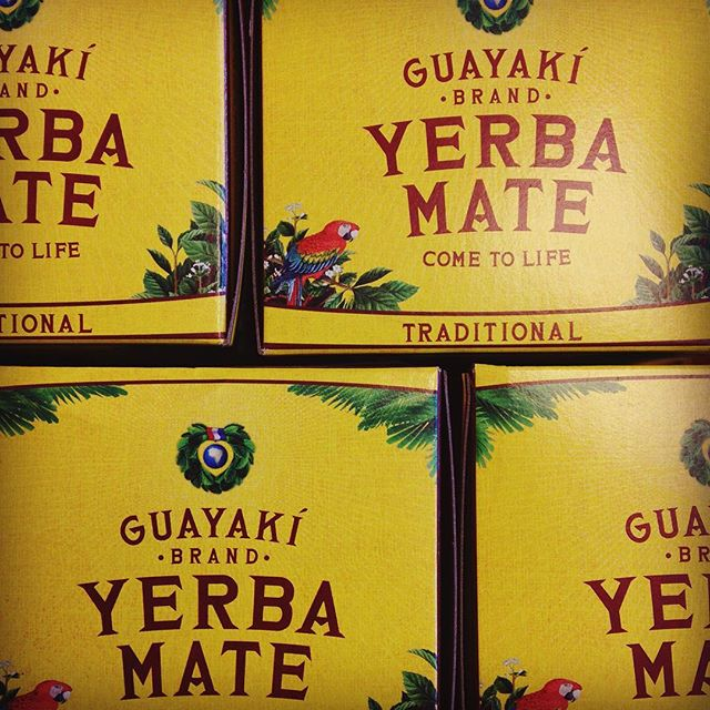 Just in- Yerba Mate! Fair trade, organic, nutrient-dense and ready to boost your energy!  #guayakí #yerbamate #southamerican #traditional #medicinal #antioxidants #energy #caffeine #boostenergy #focus #nourishorganicmarket