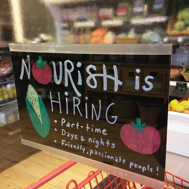 Do you love good food? Do you like creating positive change within your community? Are you passionate about health or food justice? If so, you may be a good fit for Nourish! We're hiring friendly, passionate, and hard working people! Feel free to stop in and pick up an application if you're interested!  #nowhiring #foodjustice #organicfood #health #healthylifestyles #goodforyou #supportlocal #westmichigan #grandrapids #nourishorganicmarket