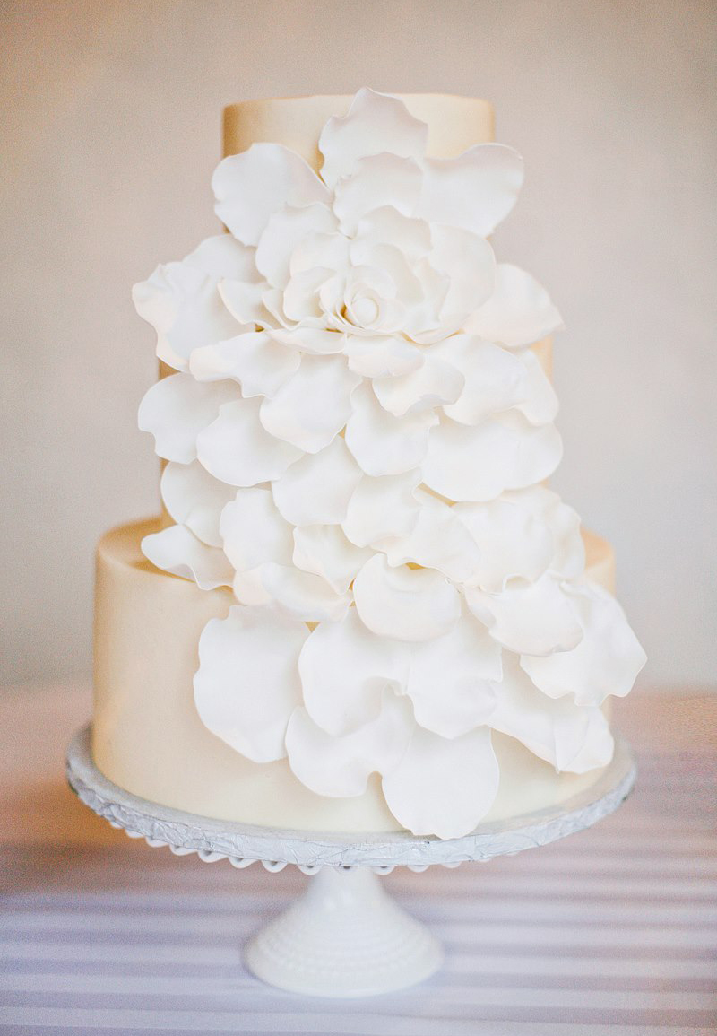 custom-wedding-cake-white-on-white-ruffle-flower-petals.jpg
