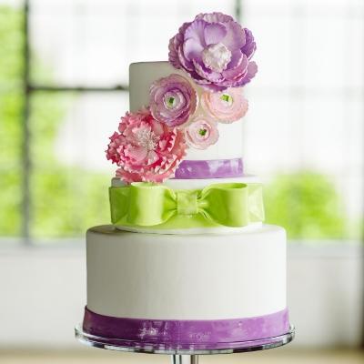 Sugar Bee Sweets Signature Wedding Cake: Garden Party