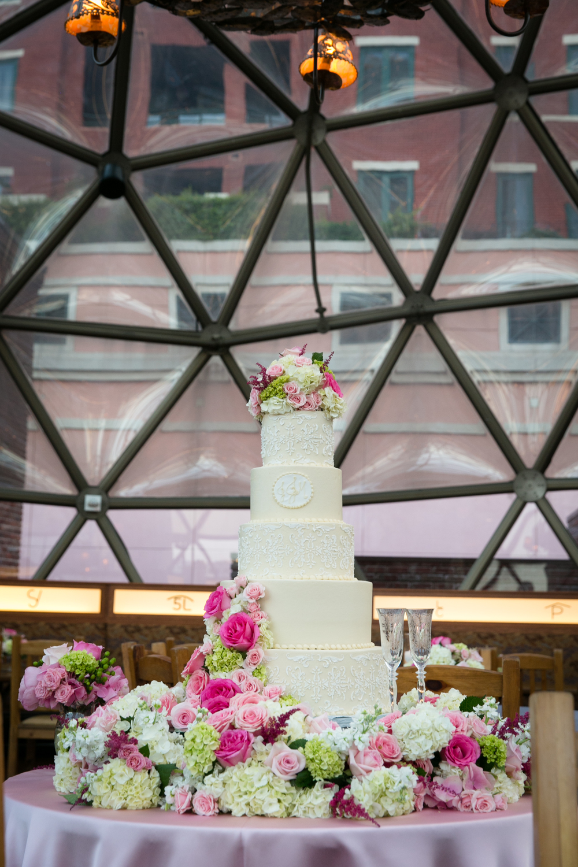custom-wedding-cake-cream-white-damask-lace-texture-monogram-sugarbeesweets.jpg