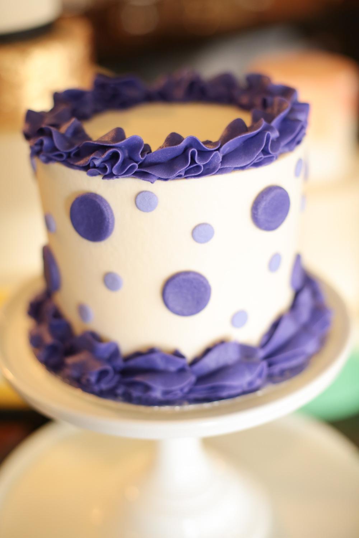 Polka Dot Birthday Cake Designs