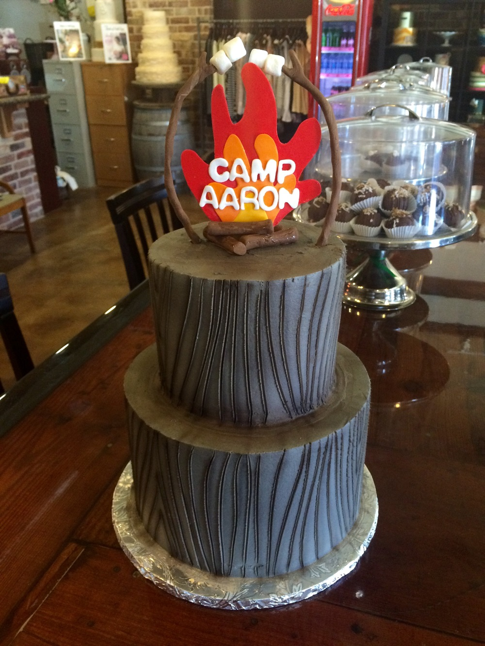 two_tier_camping_campfire_woodgrain_cake-sugarbeesweets.jpg