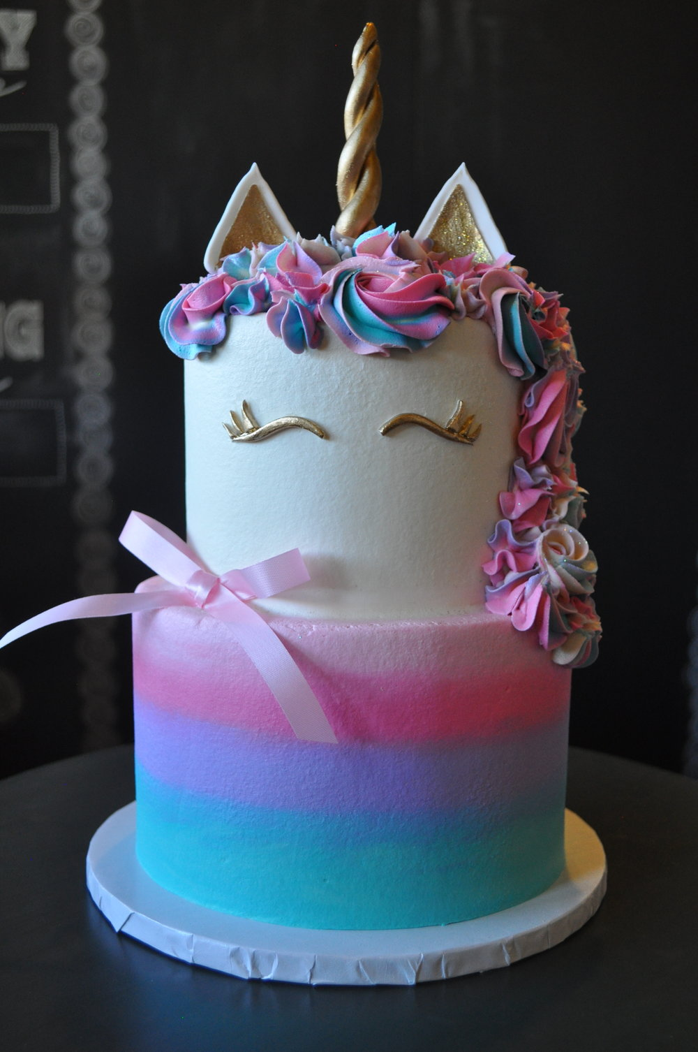 2 tiered unicorn cake closeup.jpg