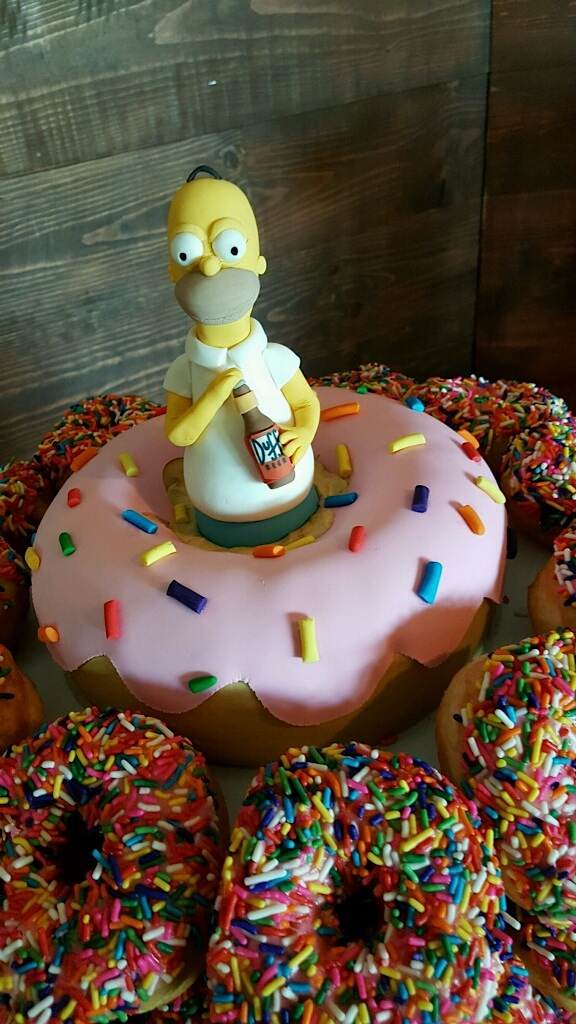 Homer Simpson Donut.JPG