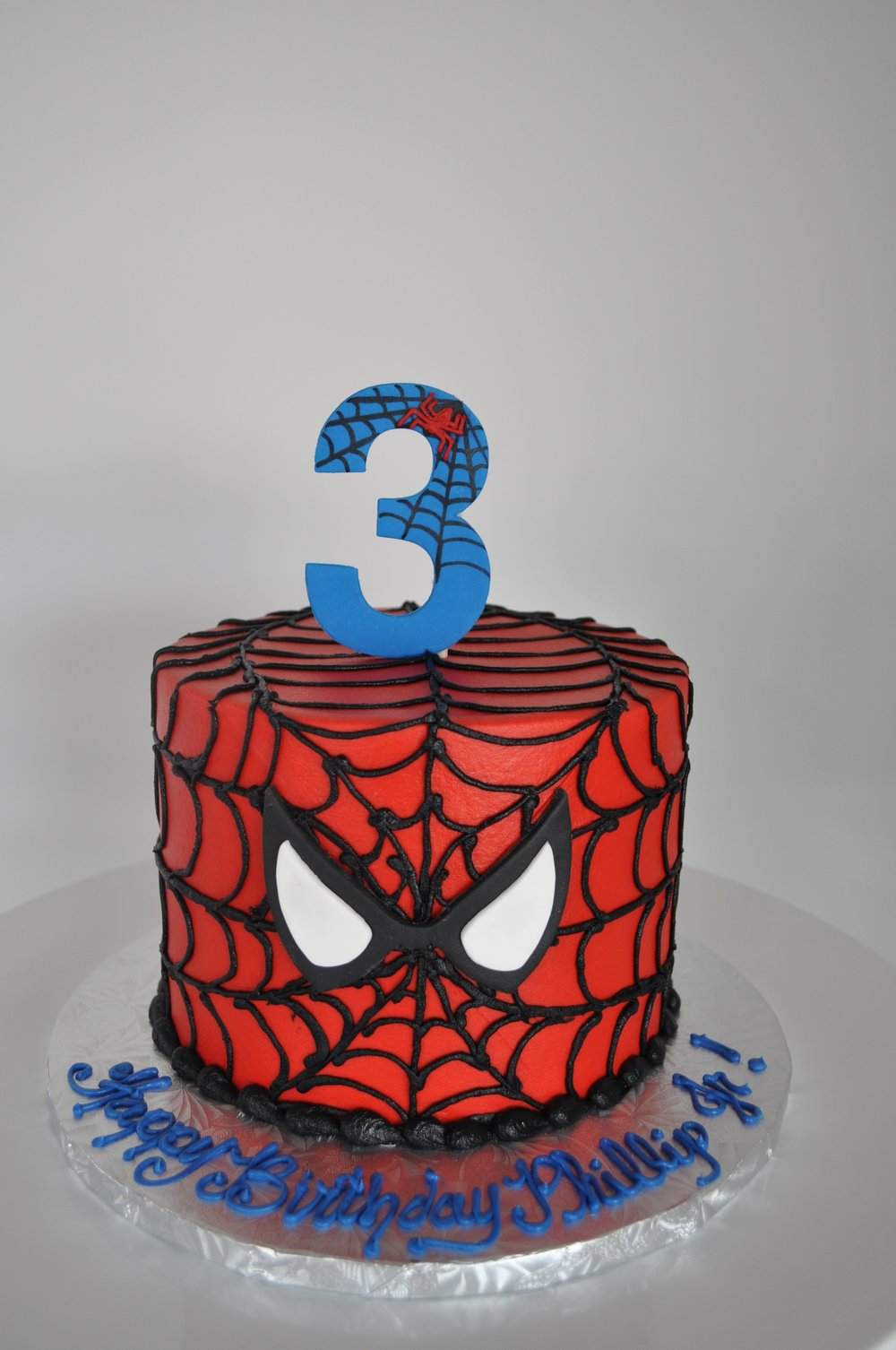 Piped Spiderman Cake.jpeg