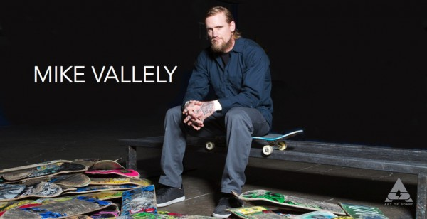 Art of Board's new Brand Manager, Mike Vallely.