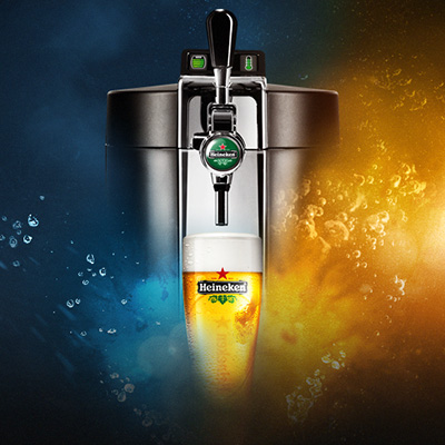Heineken BeerTender Application iOS