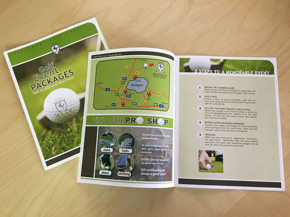 Stuttgart Golf Course Brochure