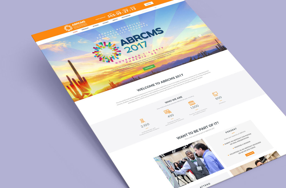 ABRCMS Landing Page