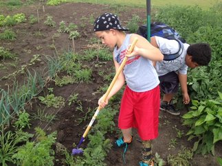NCHA worked with the Kelliher School to plant a school garden, which has provided potatoes, squash, pumpkins and more. Much of the produce is used in their new salad bar and hot lunch line, but some of it is also used to educate students on the variety of vegetables.