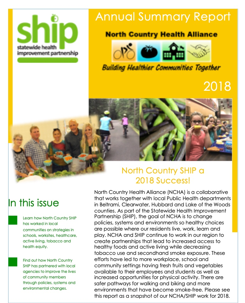 2018 Annual Summary Report