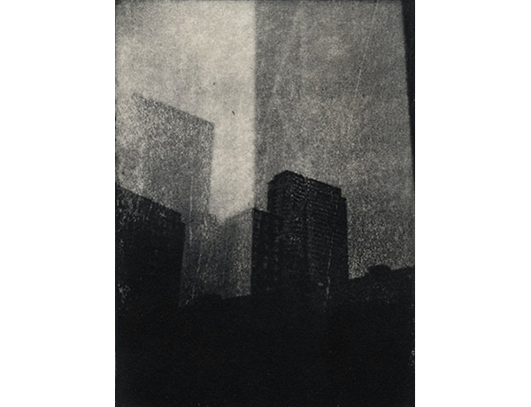 "10th Street 2013 Photopolymer Intaglio Print on Pape 5"" x 7"""