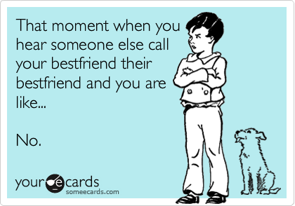 you like your best friend
