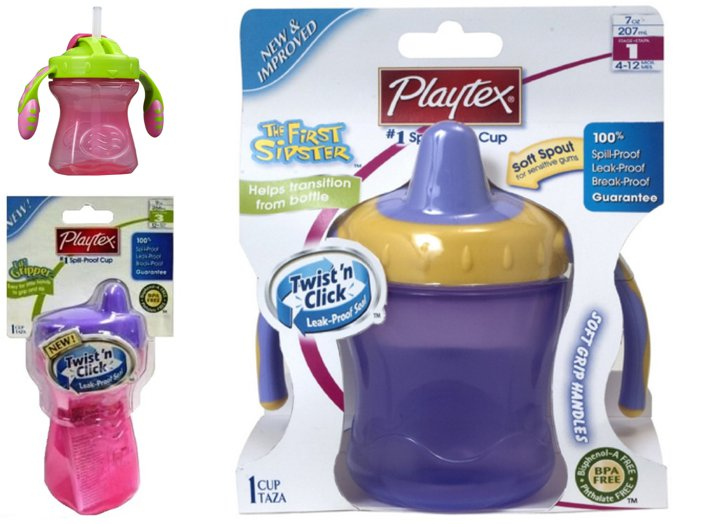 playtex baby cups