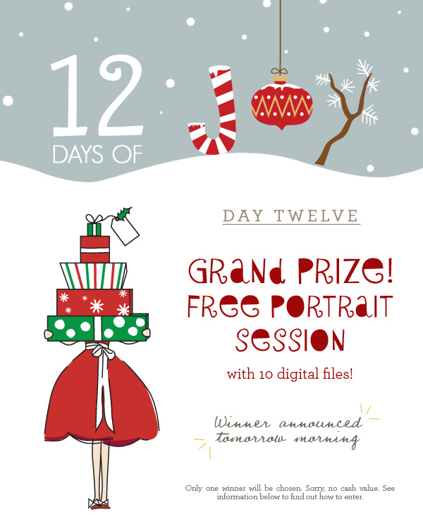 Day 12 - Free Portrait Session!
