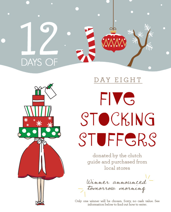 12 Days of Joy Day 8 - Five Stocking Stuffers