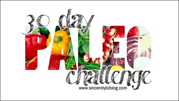 30 Day Paleo Challenge