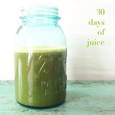 30 days of juice