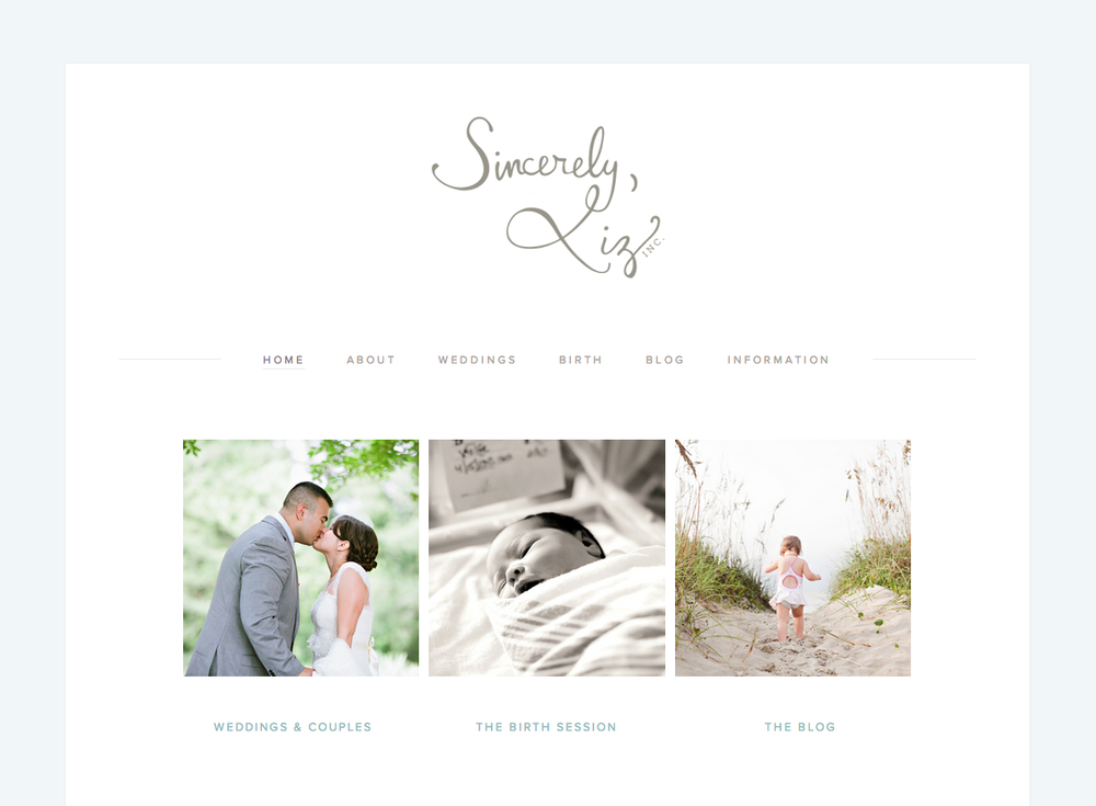 Sincerely-Liz-Photography-Website