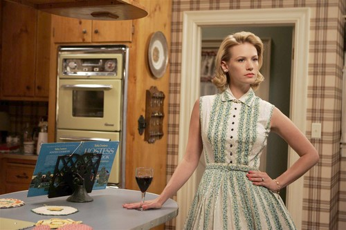 My husband and I are huge Mad Men fans and our second daughter was named after the actress who portrayed Betty Draper. (Also, I wish I lived in the 50's and 60's!)
