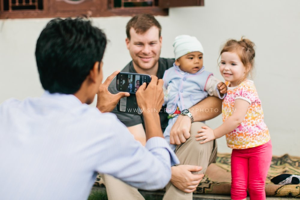 In 2013, I took my family with me on assignment to Nepal for Allow The Children ministries. We had an amazing time and were able to meet so many new friends! I travel internationally to photograph for non-profits every few years. It's an amazing opportunity I'll never take for granted!