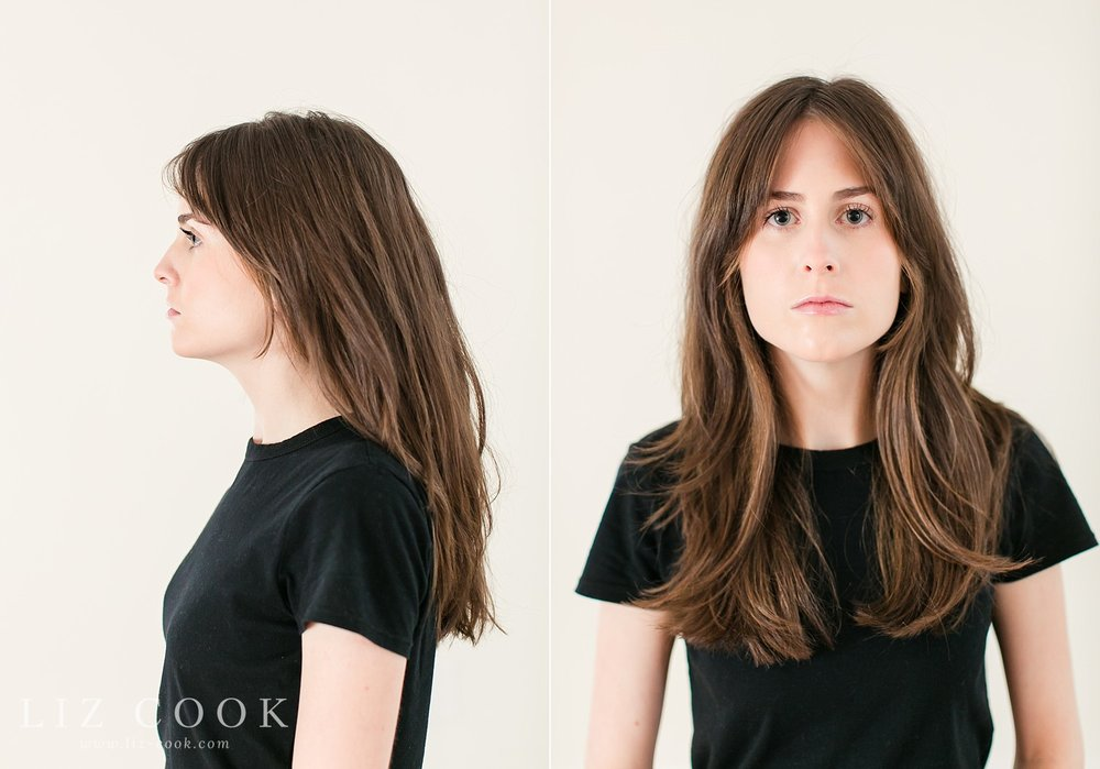 Head shots for Models