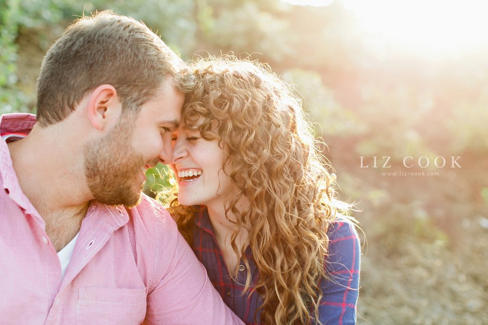 A Downtown Lynchburg Engagement Session