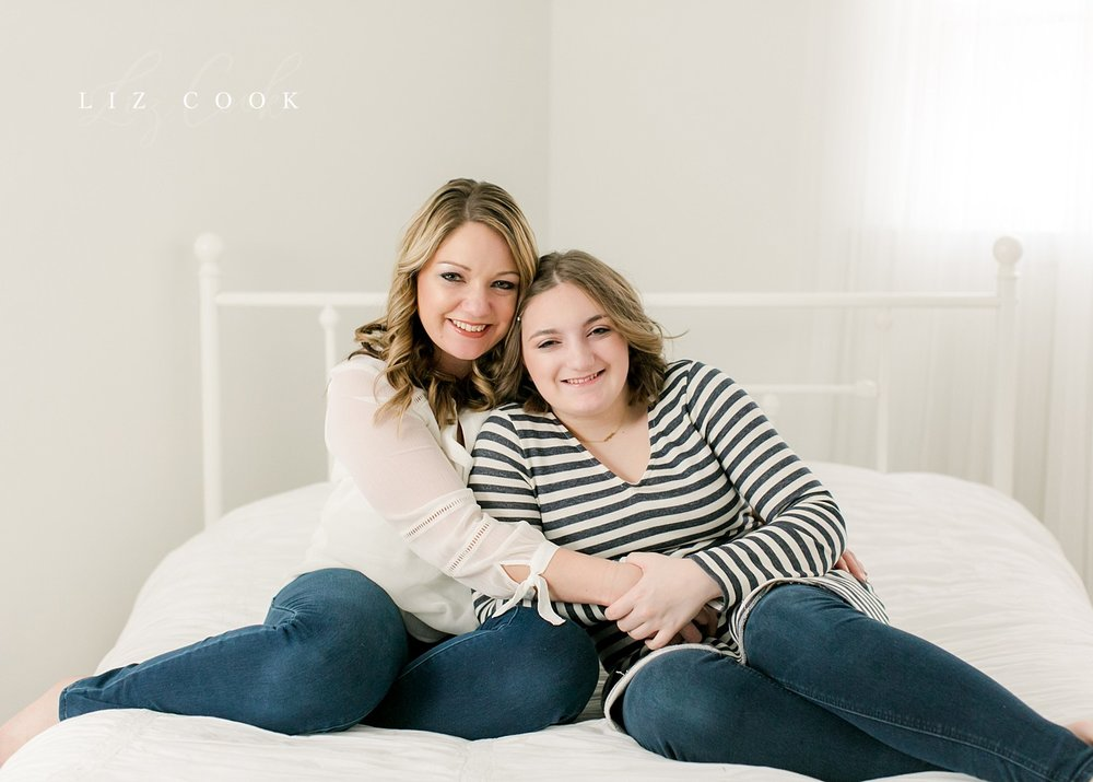 Jayna & Hailey - Mommy & Tween Session