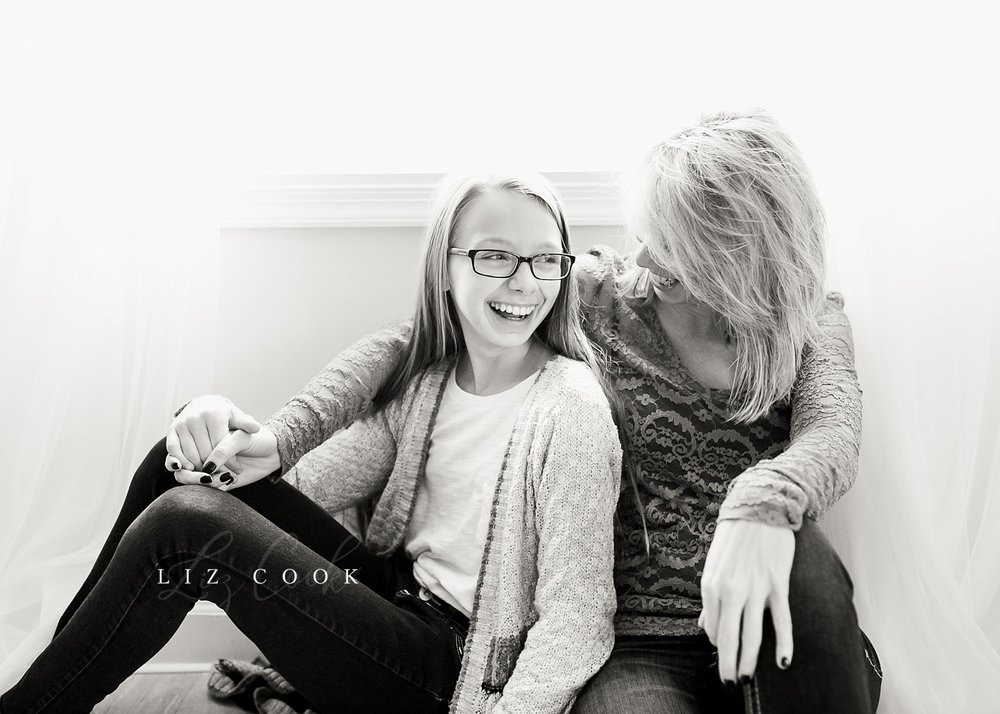 Kristy & Jessie - Mommy & Tween Session