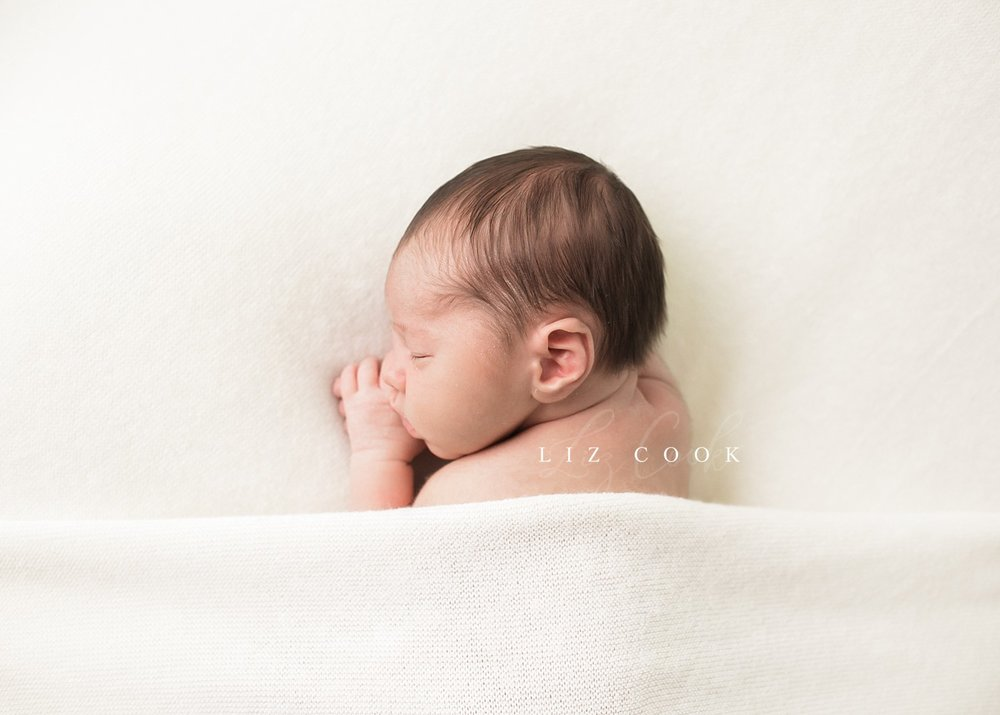 Myer's Newborn Session - At the Studio