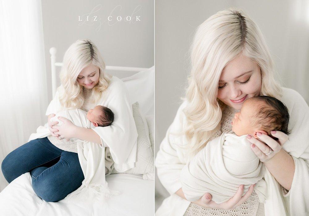 Lynchburg Virginia Newborn Pictures at the Studio
